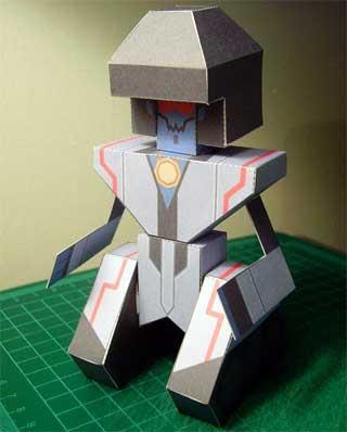 Frobot Papercraft