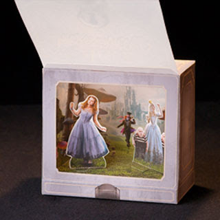 Alice in Wonderland Shadow Box Papercraft