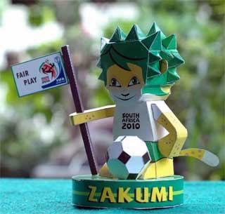 Zakumi Papercraft 2