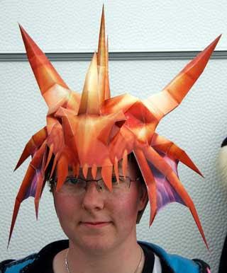 Dragonstalker Helmet Papercraft