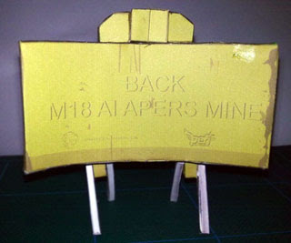 M18 Claymore Mine Papercraft