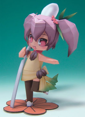 Coffee Mame-tan Papercraft