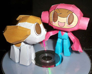 Mr. Driller Papercraft