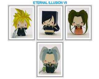 Final Fantasy Eternal Illusion VII Papercraft