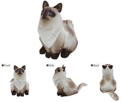 pictures of anime cats. Anime Cat Papercraft