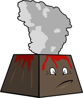 Eyjafjallajökul Volcano Papercraft