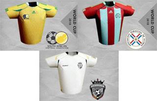 Futbol Jersey Papercraft