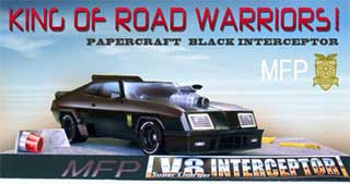 Mad Max V8 Interceptor Papercraft