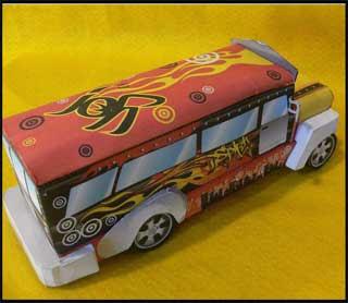 Philippine Jeepney Papercraft