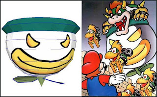 Koopa Clown Car Papercraft ~ Paperkraft.net - Free Papercraft ...