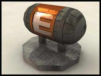 Metroid Energy Tank Papercraft