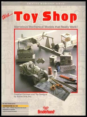 Toy Shop Papercraft Models