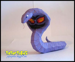 Pokemon Arbok Papercraft