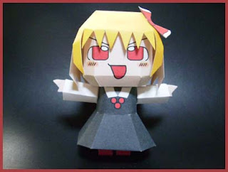 Touhou Project Rumia Papercraft