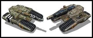 Command & Conquer Predator Tank Papercraft