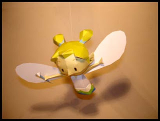 Legend of Zelda Fairy Papercraft
