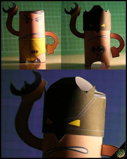 Slip-Man Papercraft