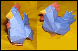 Legend of Zelda Cucco Papercraft