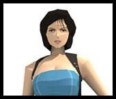 Resident Evil Jill Valentine Papercraft