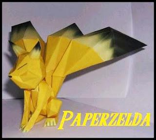 Legend of Zelda - Keaton Papercraft