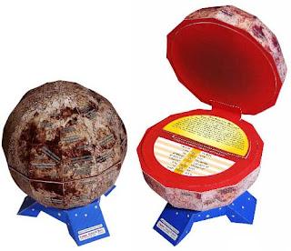 Moon Map Lunar Globe Papercraft