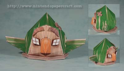 Tingle Tower House Papercraft