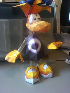 Rayman Papercraft
