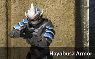 Halo 3 Hayabusa Armor Papercraft