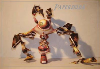 Legend of Zelda Queen Gohma Papercraft