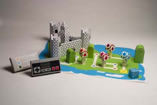 Mario World Board Game Papercraft