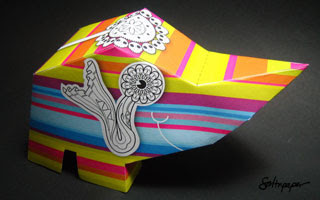 Quad Papercraft Rhino