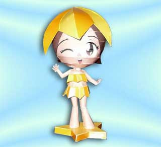 Sea Princesses Ester Papercraft