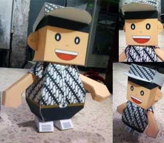 Batik Dumpy Paper Toy