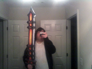Cataclysm Edge Papercraft Sword