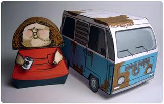 Hurley Dharma Van Papercraft