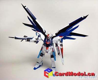 Freedom Gundam Papercraft