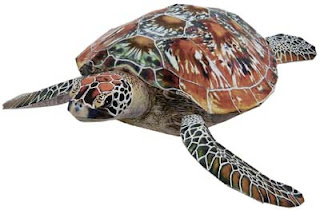 Green Sea Turtle Papercraft