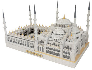 Sultan Ahmet Mosque Papercraft