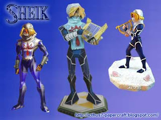 Sheik Papercraft