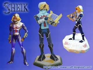 Sheik Papercraft