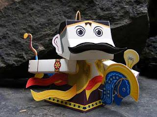 Kuda Lumping Papercraft
