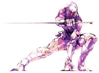 Cyborg Ninja Papercraft