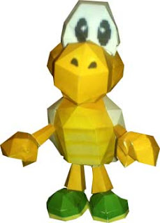 Koopa Troopa Papercraft