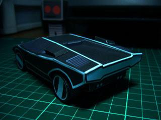 Automan Car Papercraft