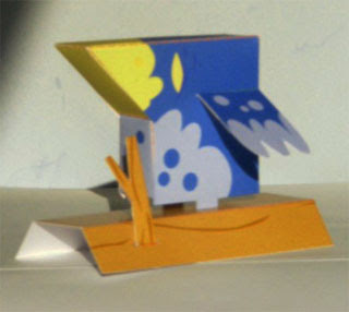 Bluebird Papercraft Toy