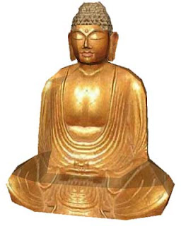 Golden Buddha Papercraft