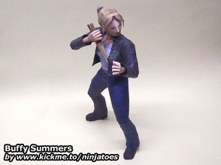 Buffy Summers Vampire Slayer Papercraft