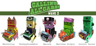 Calling All Cars Papercraft Wave 2