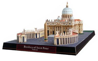 St. Peter's Basilica Papercraft