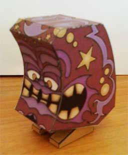 Tikitika Paper Toy